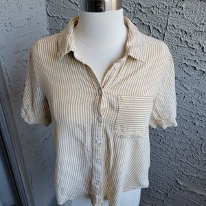 Rollee Striped Button Down Shirt
